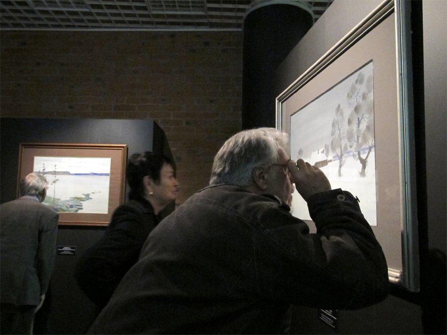 Алексей Шмаринов открыл окно в Абрамцево и Карелию