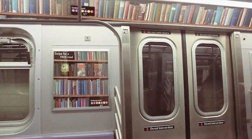 В столичном метро хотят создать интерактивную библиотеку