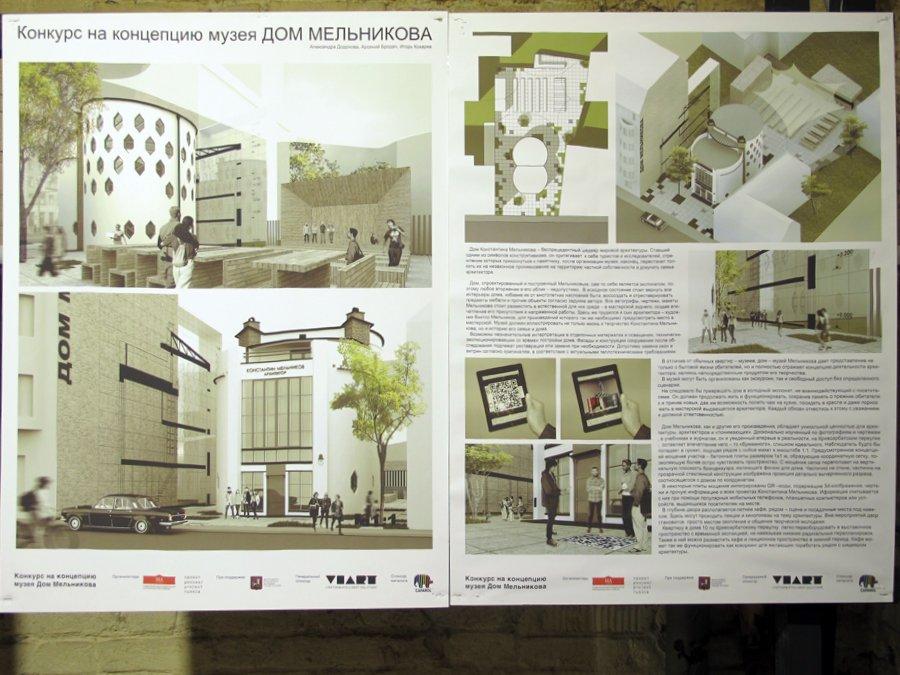 Как превратить Дом Мельникова в музей