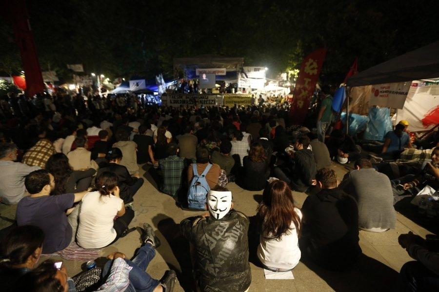 Последний мирный день Гези-парка