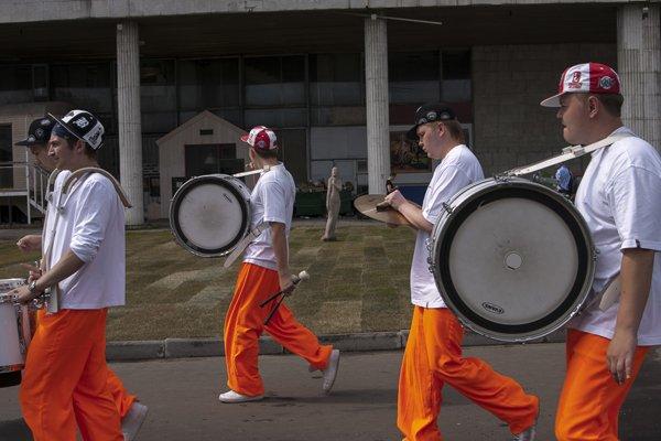 «Музеон» отпраздновал день рождения Фестивалем шагающих оркестров
