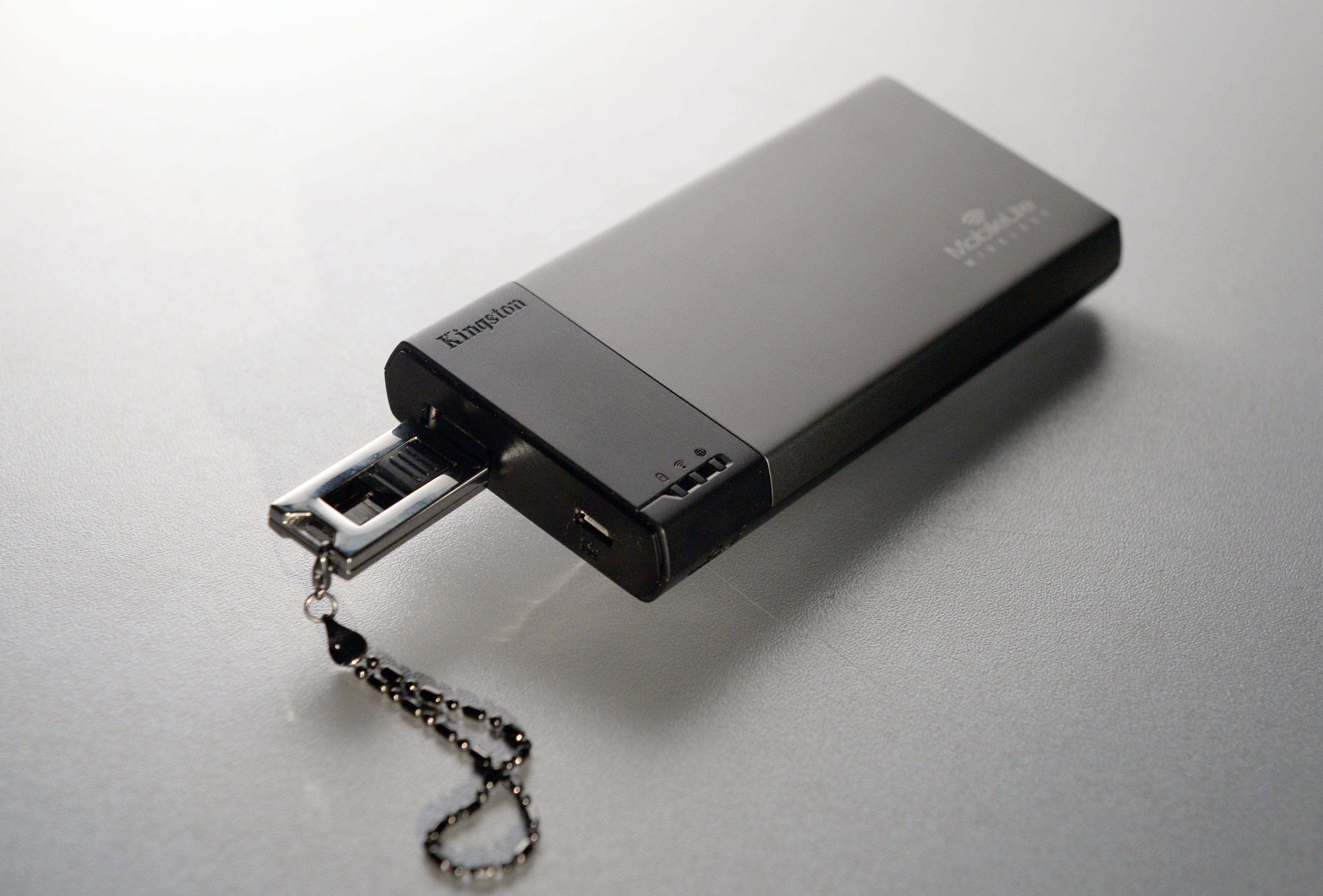 Kingston MobileLite Wireless: c флешки «по воздуху»