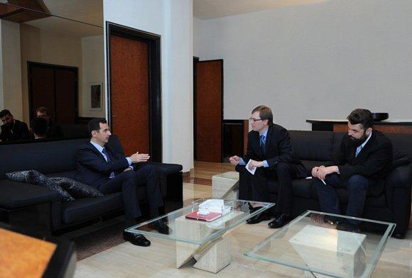 Башар Асад: «Все заключенные с Россией контракты выполняются»