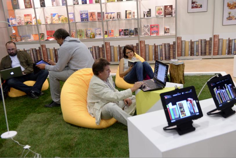 На ВВЦ 1241 издательство представило 2 тыс. книг