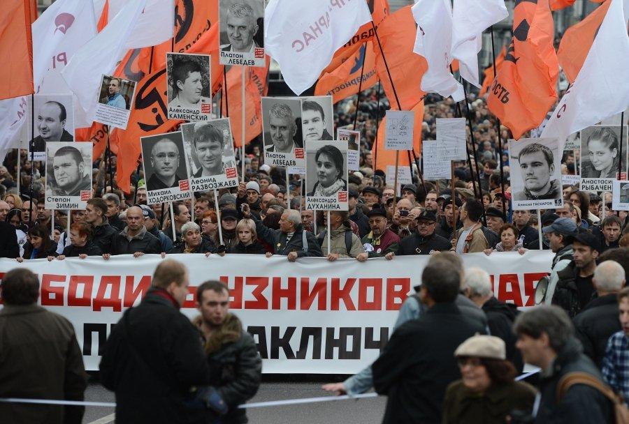 Урлашов и Arctic Sunrise дебютировали на марше оппозиции
