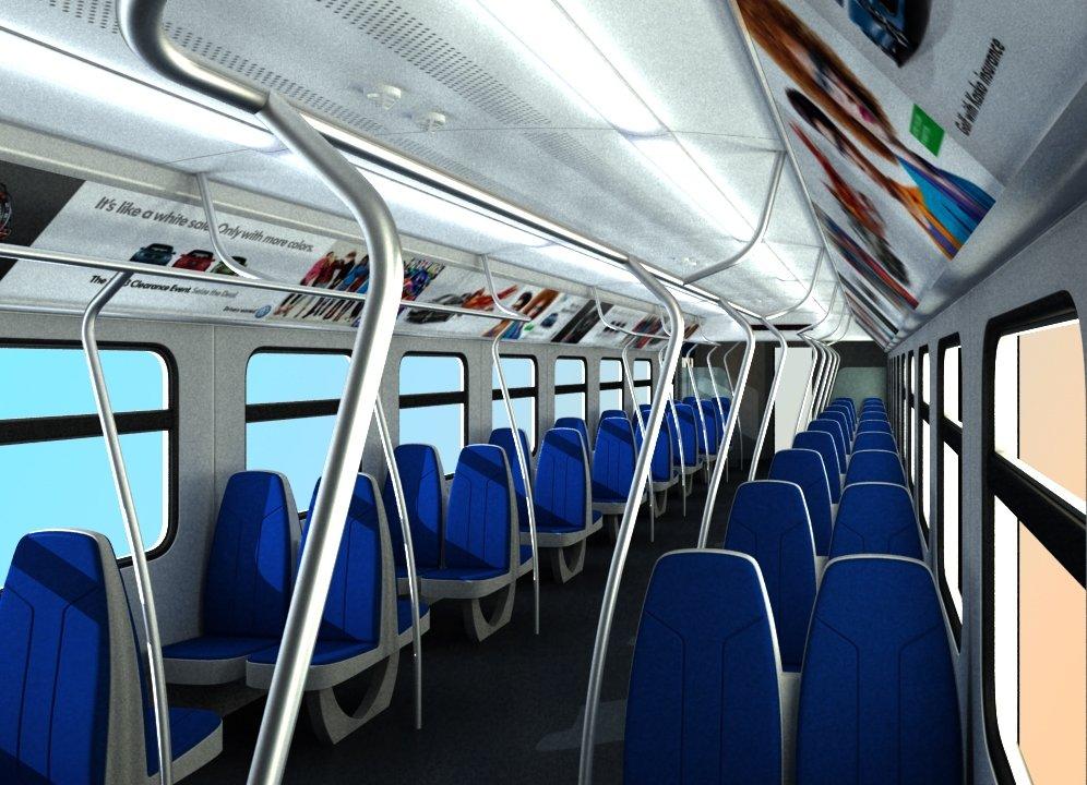 Пассажиров легкого метро обезопасят от микробов