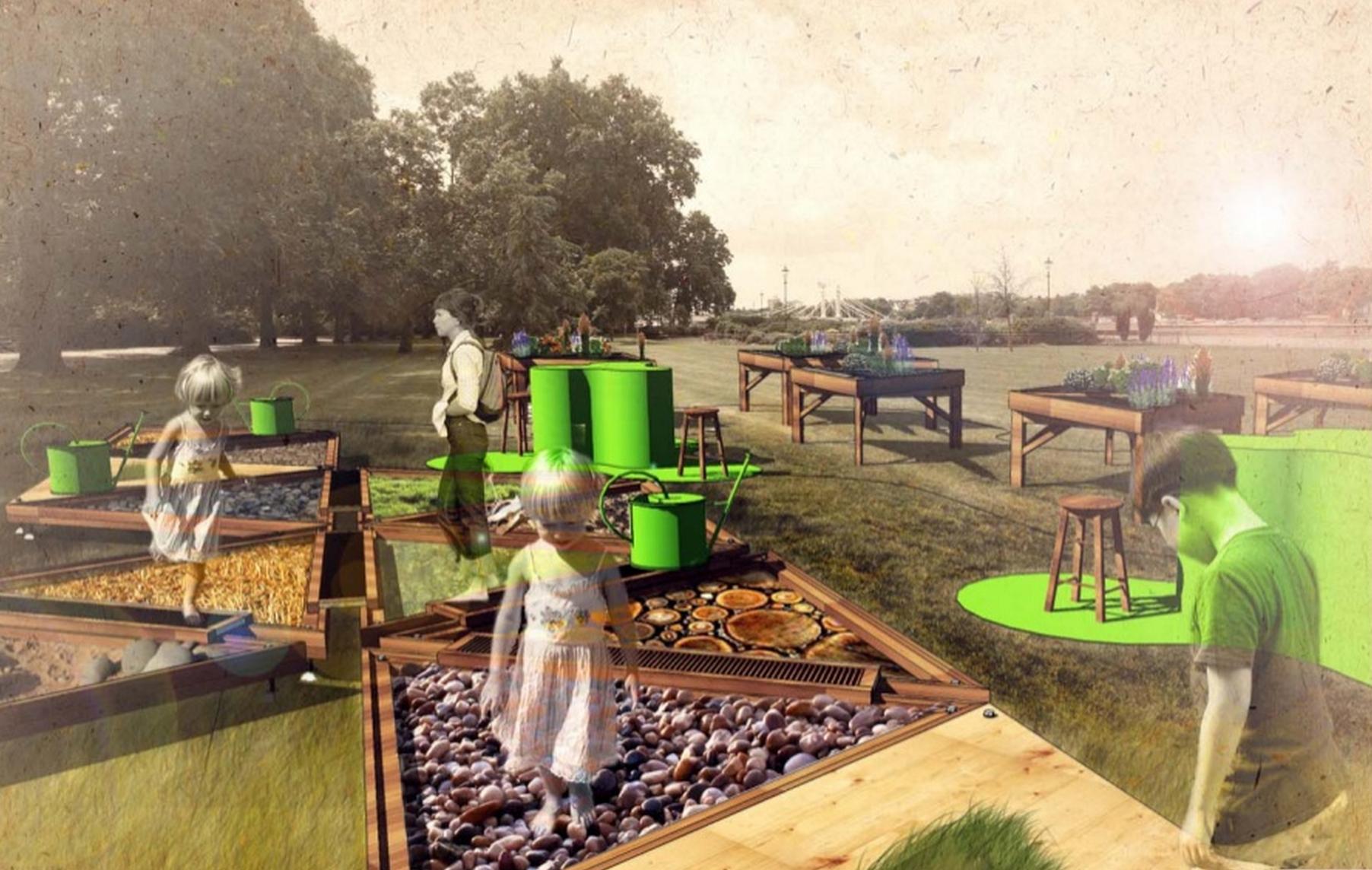 В московских парках появятся площадки трудотерапии