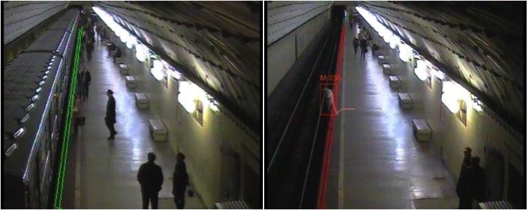 Пассажиров метро, упавших на рельсы, спасут с помощью видеокамер