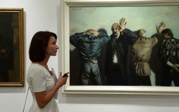 Музей современного искусства отметил юбилей Студии художников МВД