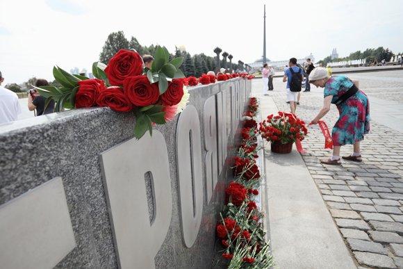 На Поклонной горе открыт памятник героям Первой мировой