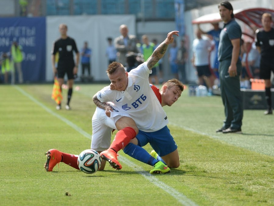 Дубль Дзюбы обеспечил «Спартаку» победу над «Динамо»