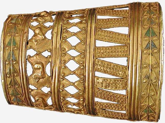 В столицу привезли не крымское золото скифов