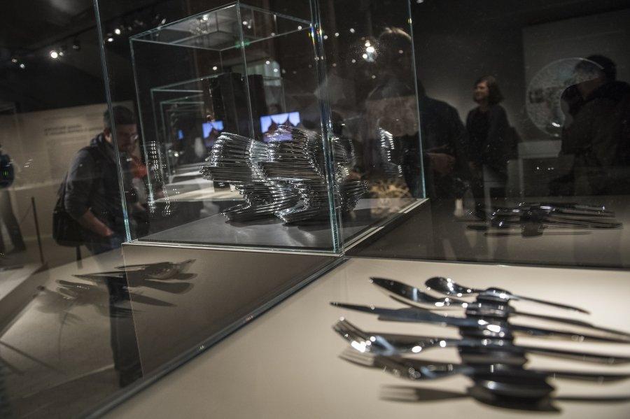 В Греческом зале Пушкинского музея поселились британские дизайнеры