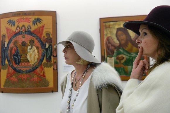 В Манеже показывают «Большую русскую икону»