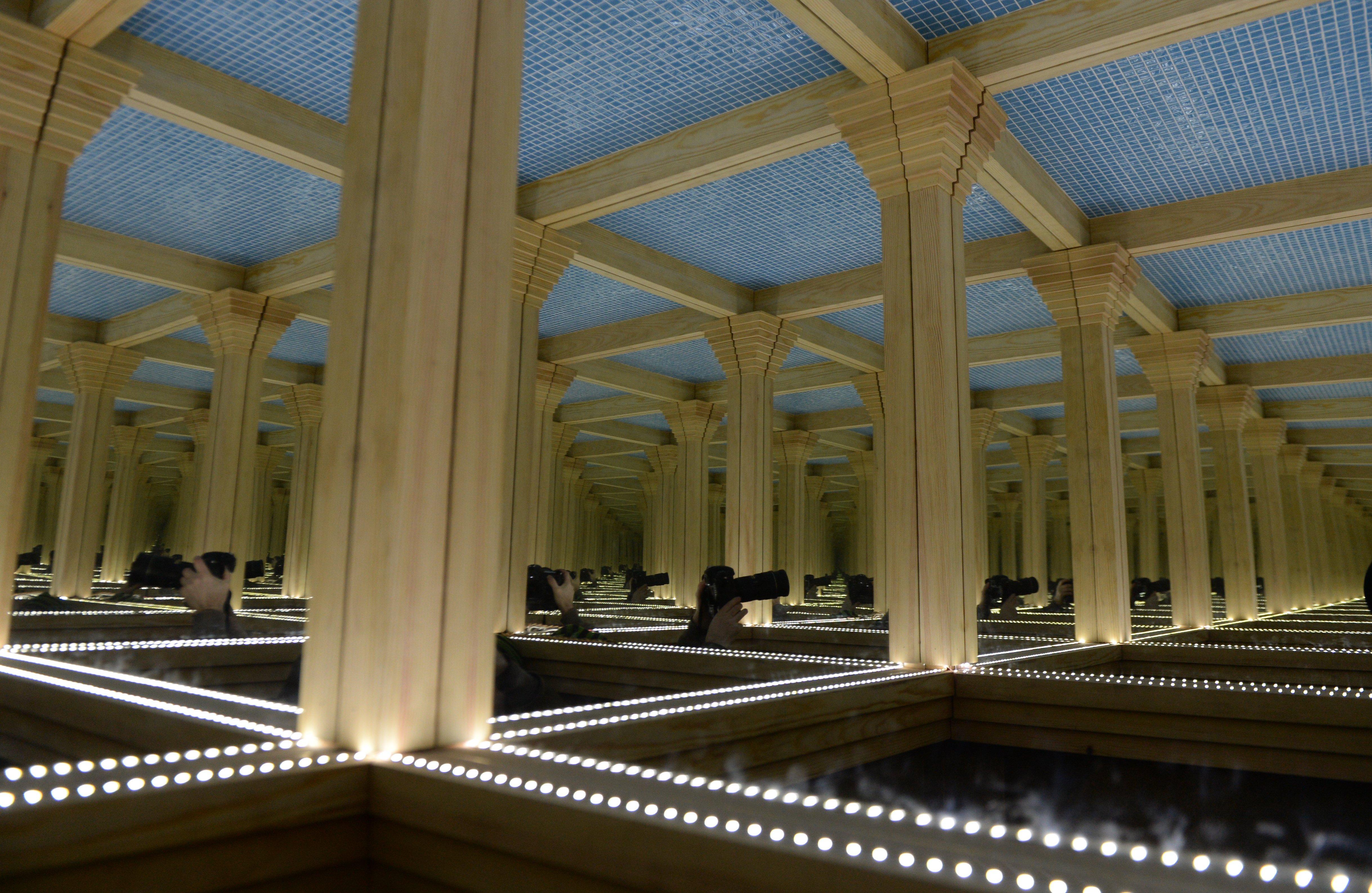 В Музее архитектуры имени Щусева появился арт-туалет