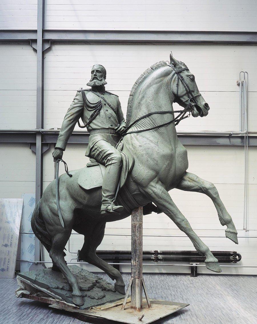 В Москве восстановили памятник генералу Скобелеву
