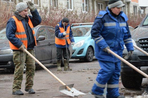 58% москвичей недовольны качеством уборки улиц