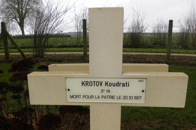 С могил русских воинов во Франции исчезают надписи «русский солдат»