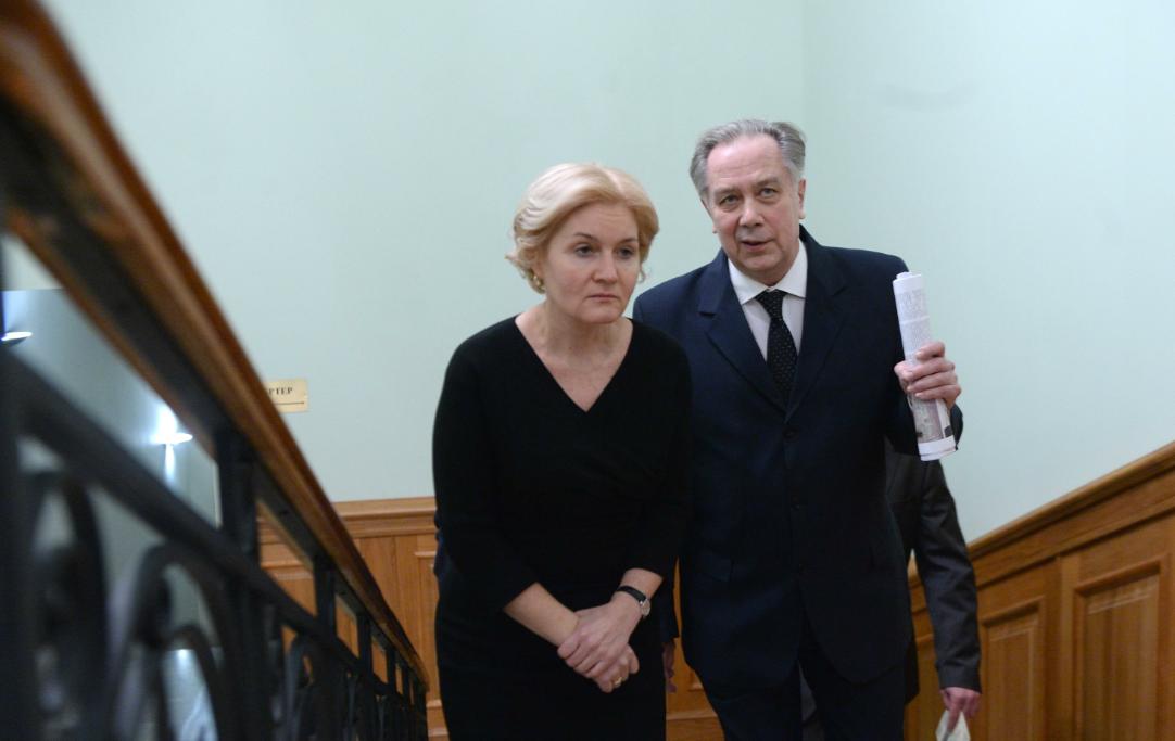 Малый зал Московской консерватории позеленел