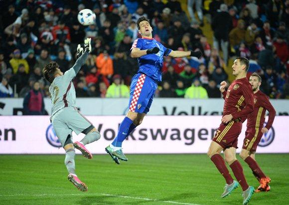 Сборная России уступила команде Хорватии со счетом 1:3