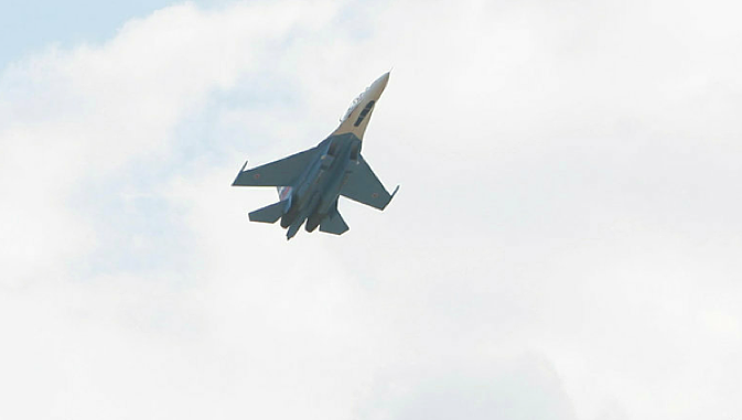 Как сбивают военные самолеты