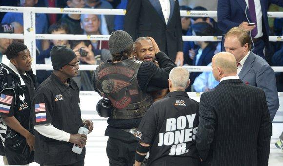 «После поражения Рой сказал: «Это бокс...»