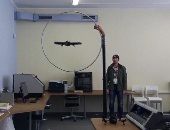 Российские ученые создали квадрокоптер, управляемый силой мысли