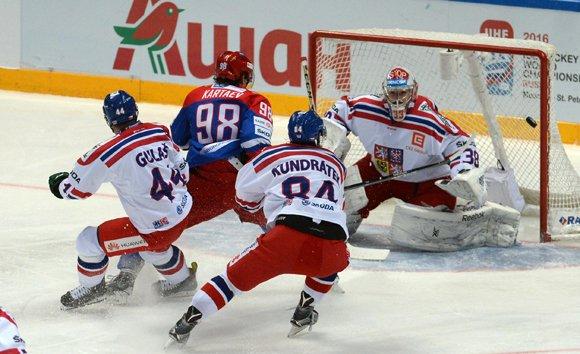 Сборная России уступила Чехии в последнем матче Кубка «Первого канала»