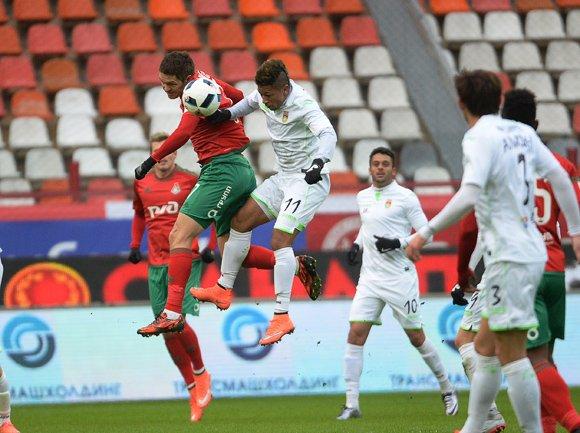 «Локомотив» прервал серию без побед в РФПЛ, обыграв «Уфу»
