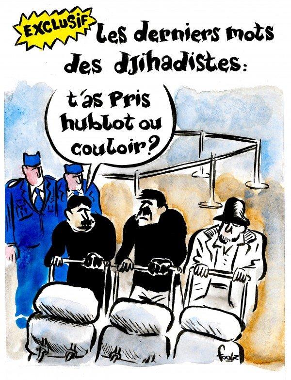Charlie Hebdo посмеялось над терактами в Бельгии