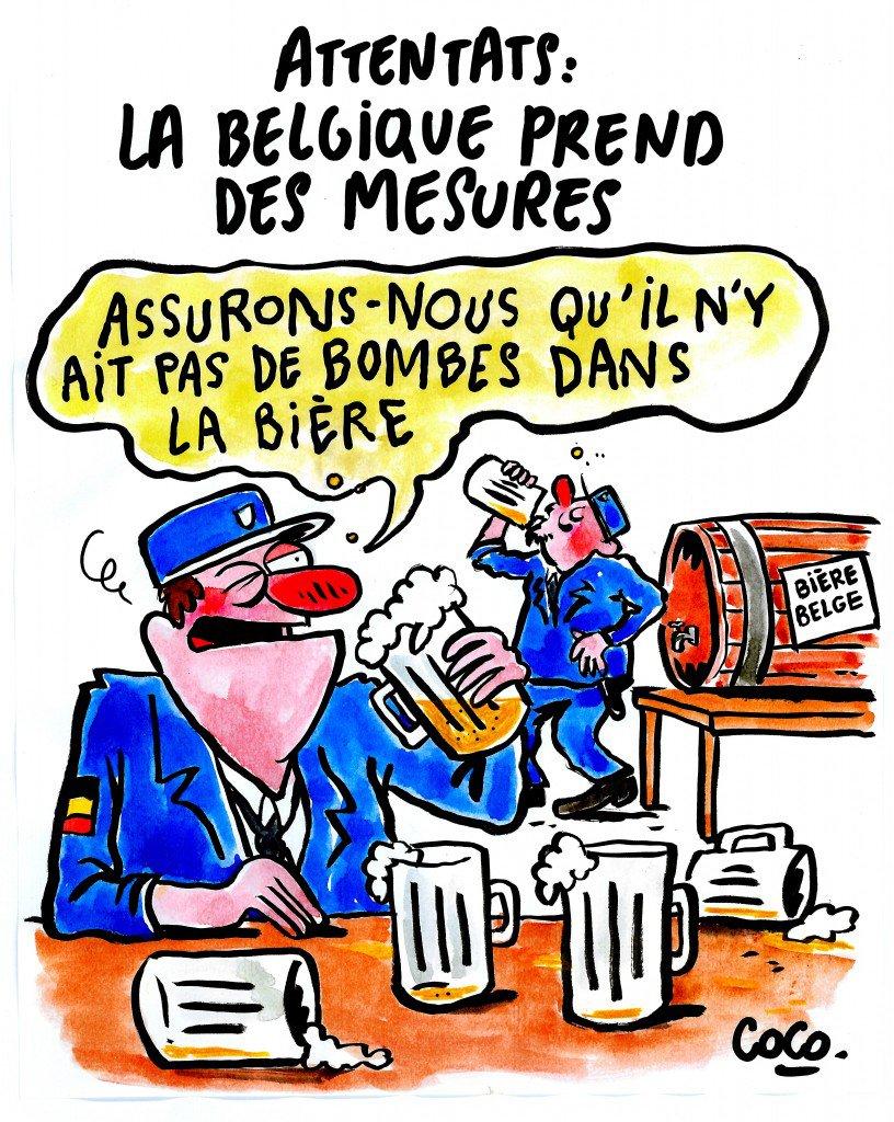 Charlie Hebdo опять высмеял теракты в Брюсселе