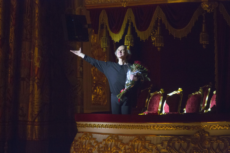 Борис Акимов вновь станцевал в Большом театре