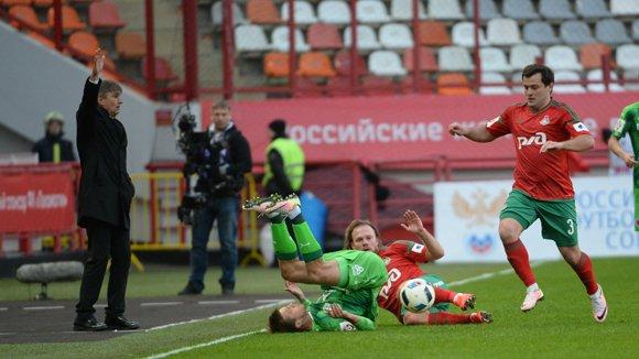 Гол Петра Шкулетича позволил «Локомотиву» обыграть «Рубин»