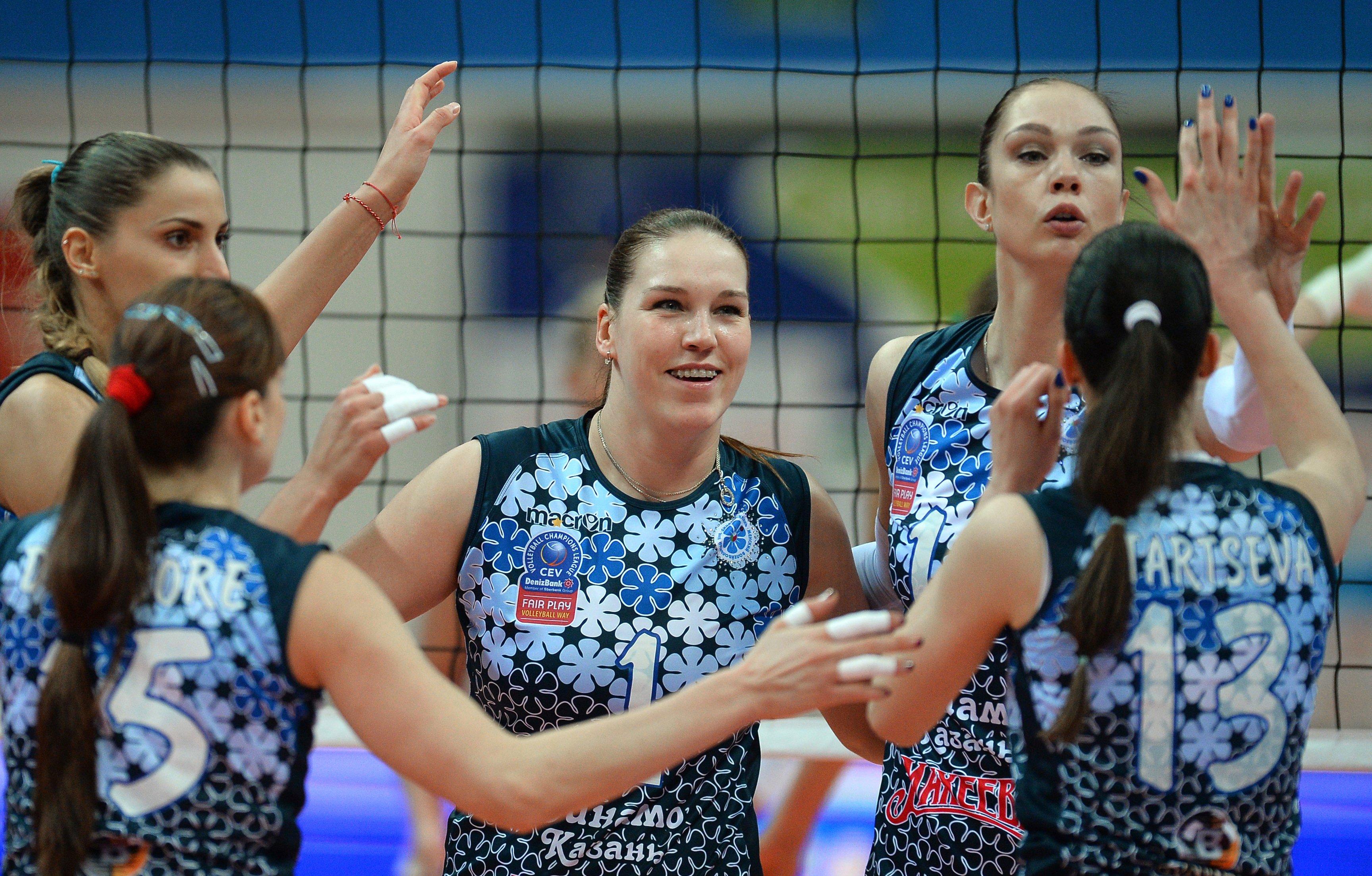 Российско-турецкая дуэль в волейболе и другие события выходных