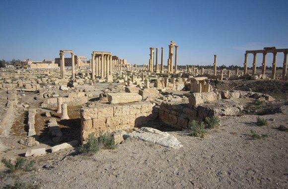Музыка возрождает древние стены Пальмиры