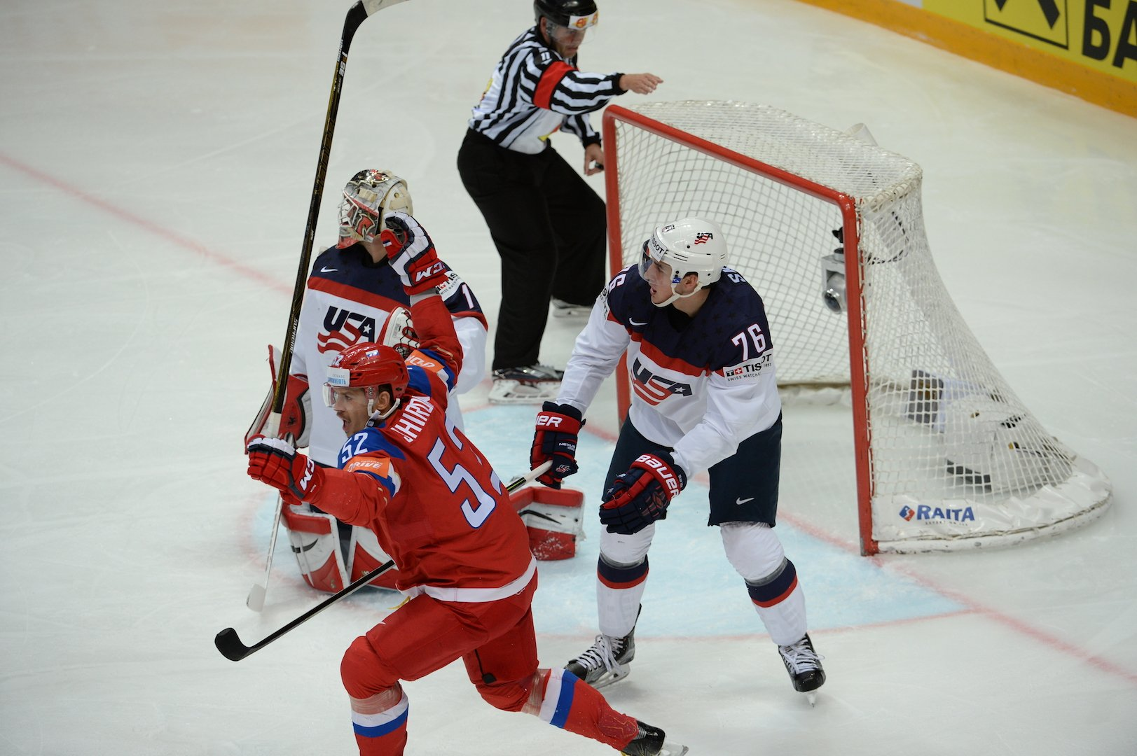 Россия отыгралась за поражение в полуфинале на США