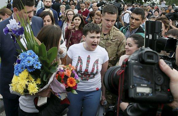 Савченко обменяли на россиян Ерофеева и Александрова: хроника событий