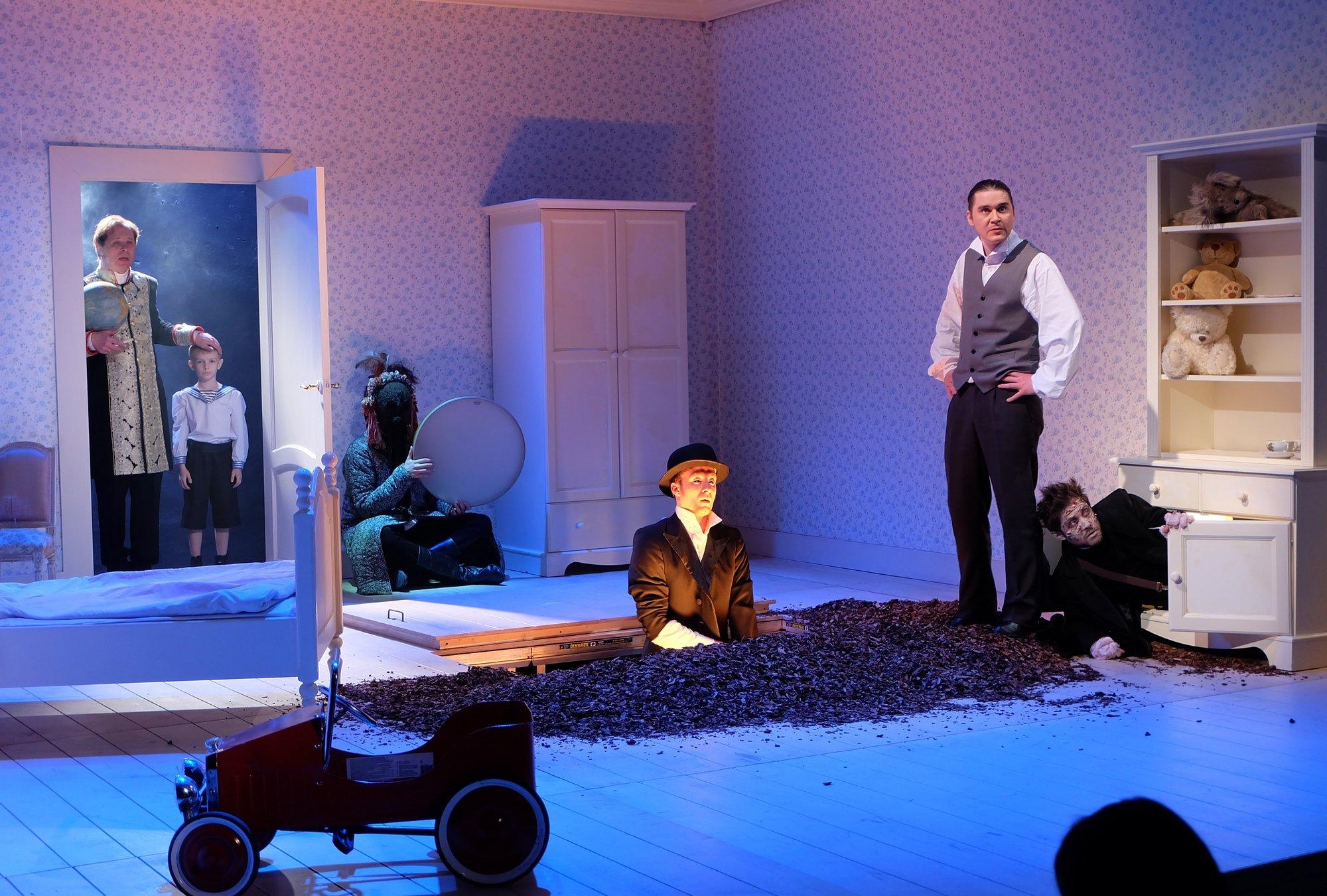 Театр на Таганке поставил спектакль об истоках терроризма
