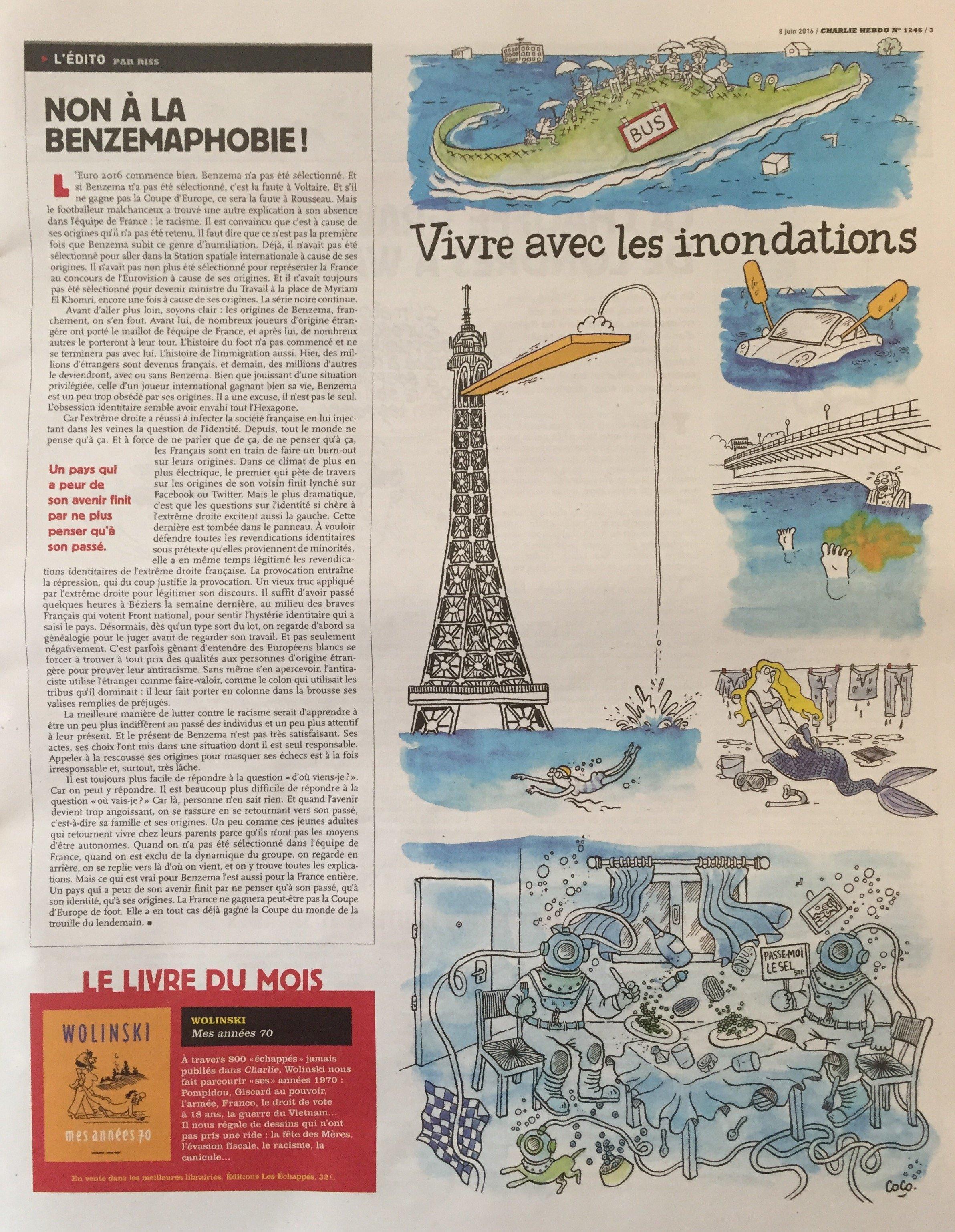 Charlie Hebdo высмеял возможность терактов на Евро-2016