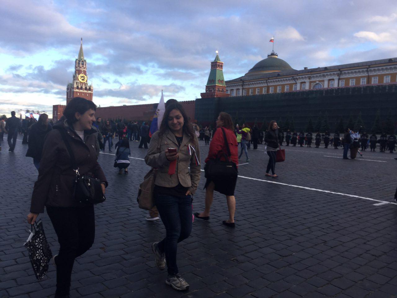 В Москве отметили День России