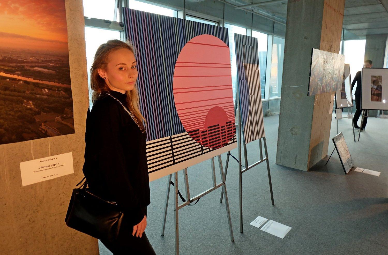 Художники на высоте 58-го этажа