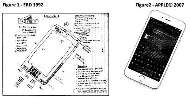 Американец обвинил Apple в краже идеи iPhone и потребовал  млрд