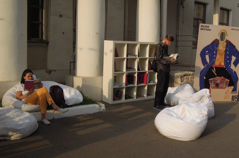 Музей Москвы открыл летнюю площадку