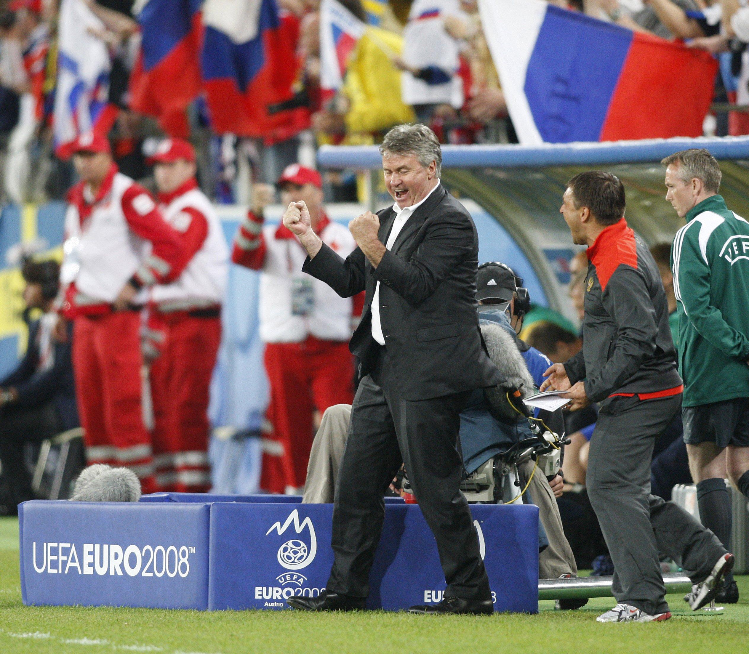 Гус Хиддинк готов вернуться в сборную России