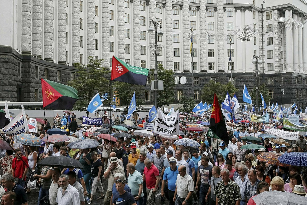 Украина вышла на улицы