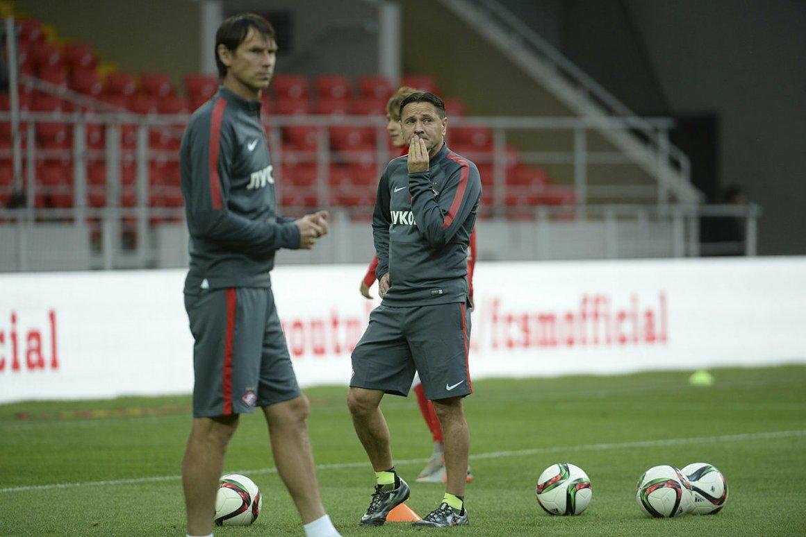 Аленичева по ходу сезона может сменить его помощник Массимо Каррера