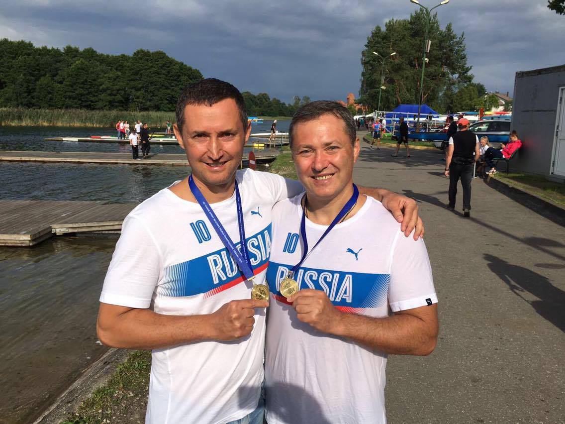 Депутат Агеев с братом стали чемпионами мира по гребле