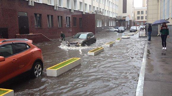 Дожди в Москве побили 130-летний рекорд