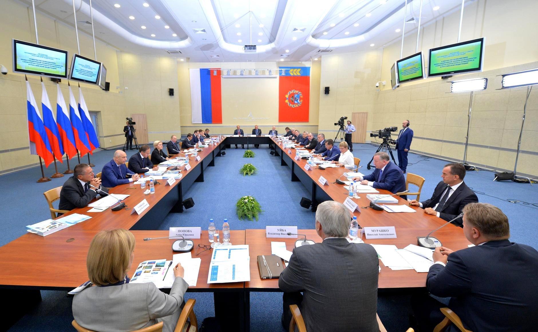 Путин призвал регионы быть аккуратными с курортным сбором