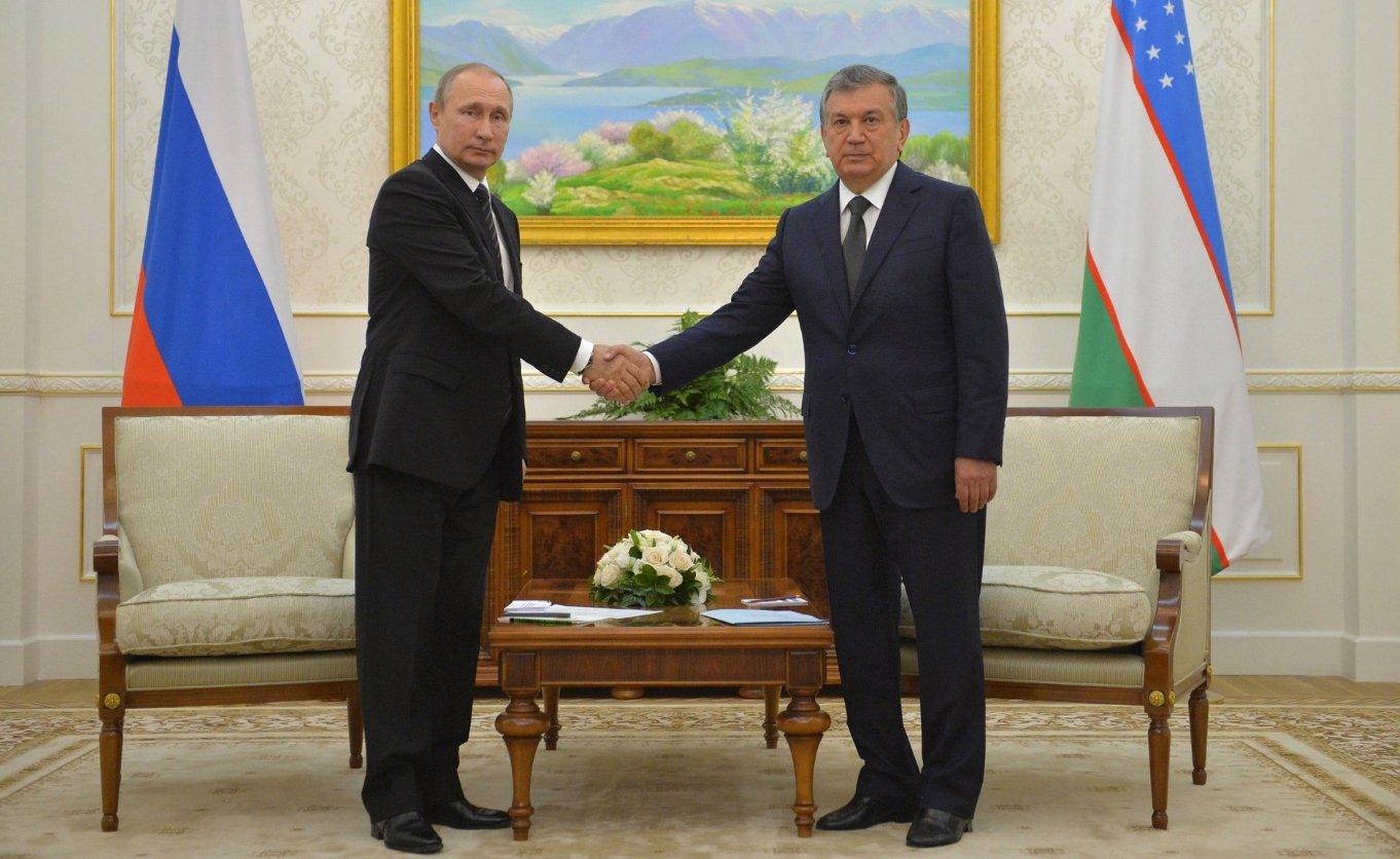 Владимир Путин простился с Каримовым и встретился с Мирзиёевым